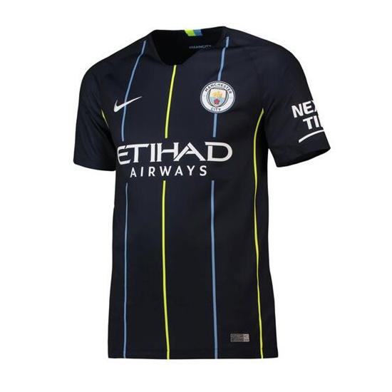 Manchester City Away Stadium Jersey 2018-19