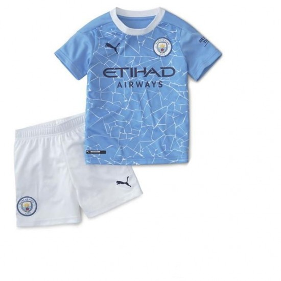 Manchester City Home Kids Kit 2020 2021