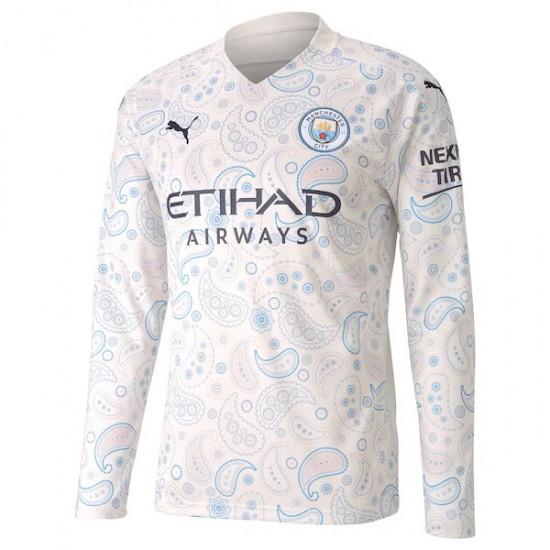Manchester City Third Long Sleeve Jersey 2020 2021