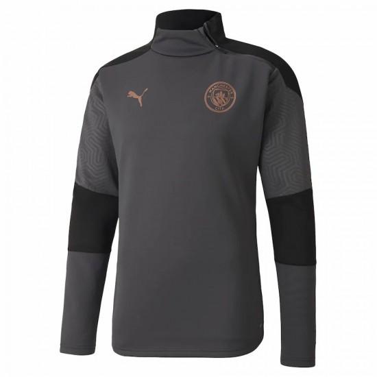 Manchester City Training Jerseys Dark Grey 2020 2021