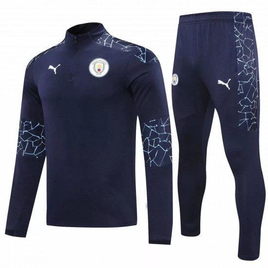 Manchester City FC Training Technical Soccer Tracksuit 2020 2021