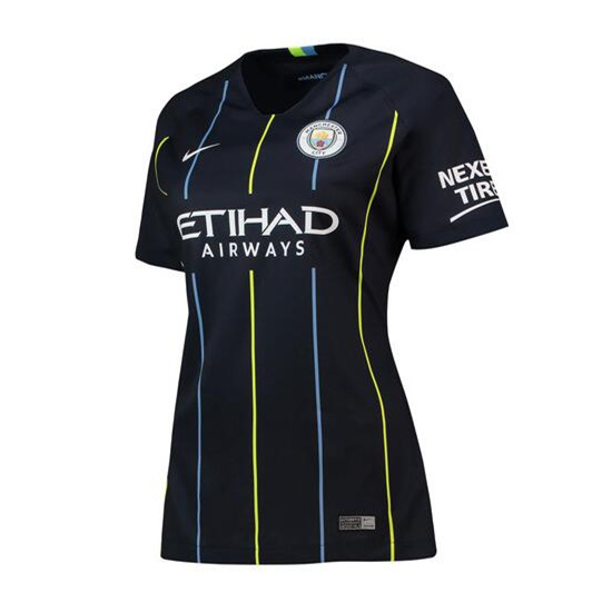Manchester City Away Stadium Shirt 2018-19 - Womens