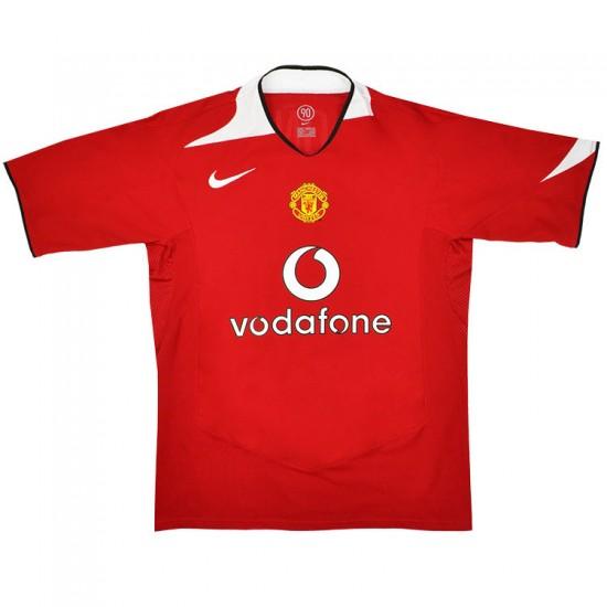 Manchester United Retro Home Jersey 2004/06