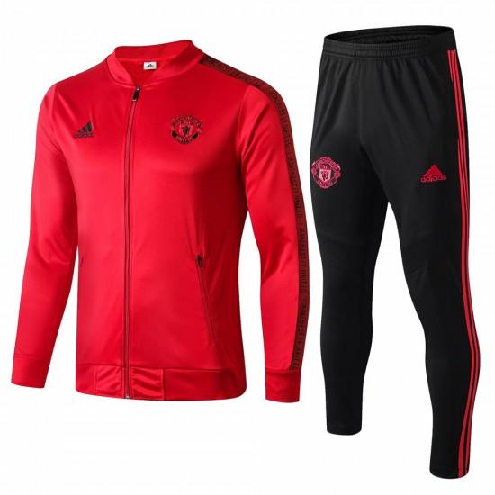 Manchester United Presentation Red Soccer Tracksuit 2019-20