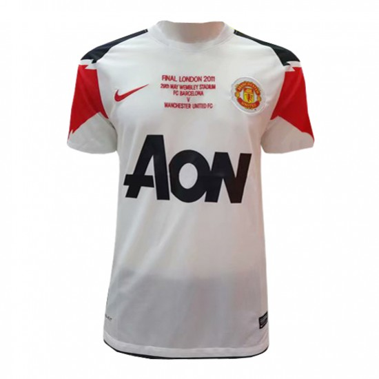 Manchester United Retro Away Jersey 2010/11