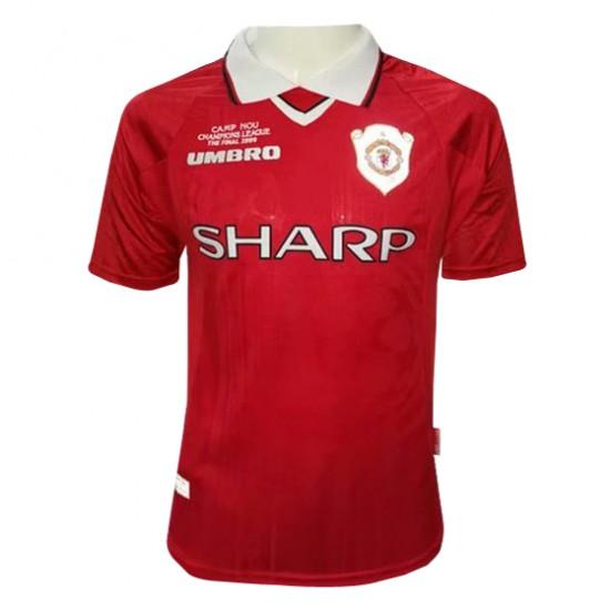 Manchester United Retro Home Jersey 1999/2000