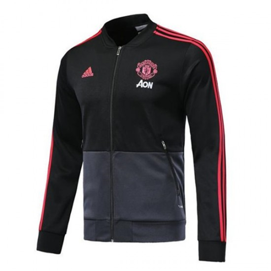 Manchester United Anthem Black Jacket