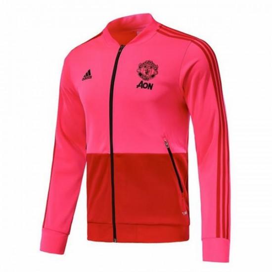 Manchester United Anthem Pink Jacket