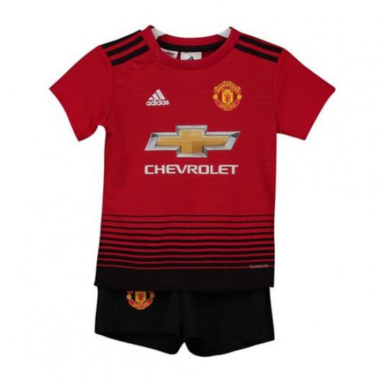 Manchester United Home Kit 2018-19 - Kids