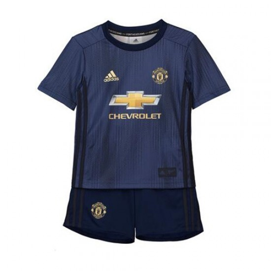 Manchester United Third Kit 2018-19 - Kids