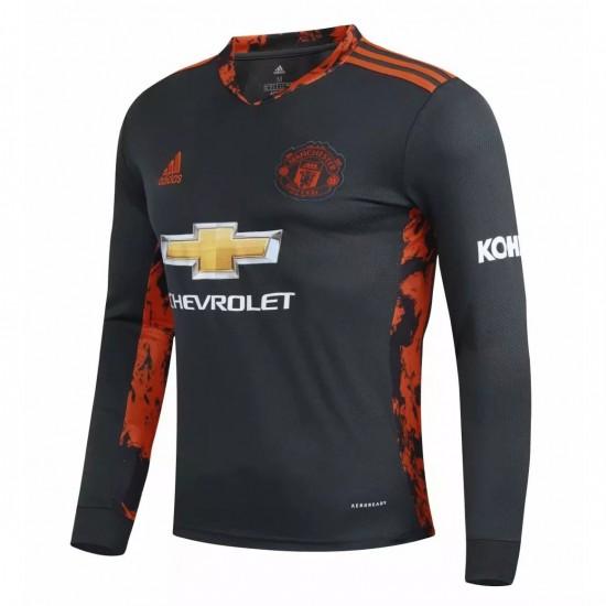 Manchester United Goalkeeper Long Sleeve Jersey 2020 2021