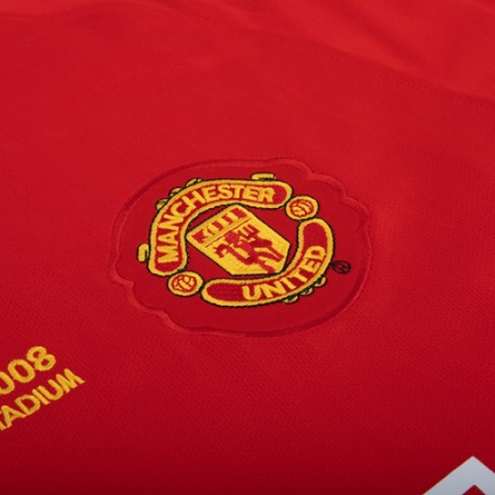 Manchester United Retro Home Jersey 2007 2008