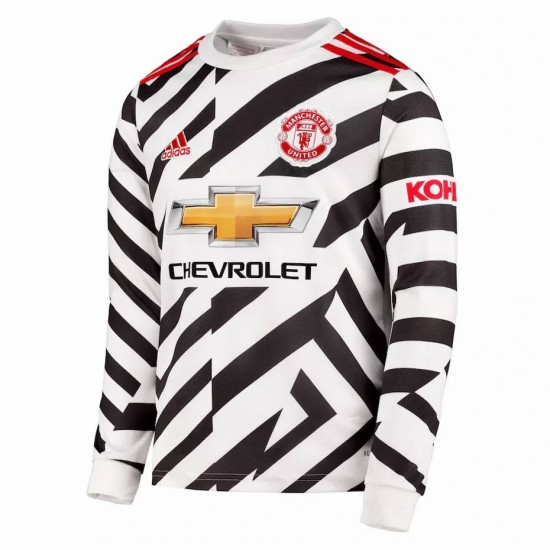 Manchester United Third Jersey Long Sleeve 2020 2021