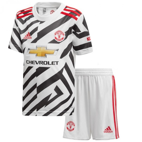 Manchester United Third Kit 2020 2021 Kids