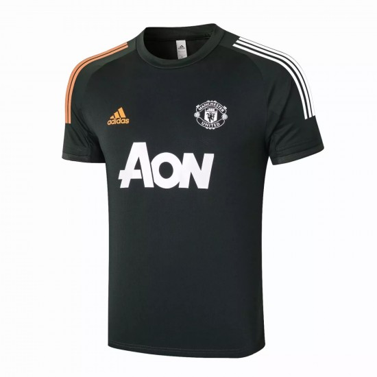 Manchester United Training Jersey Green 2020 2021