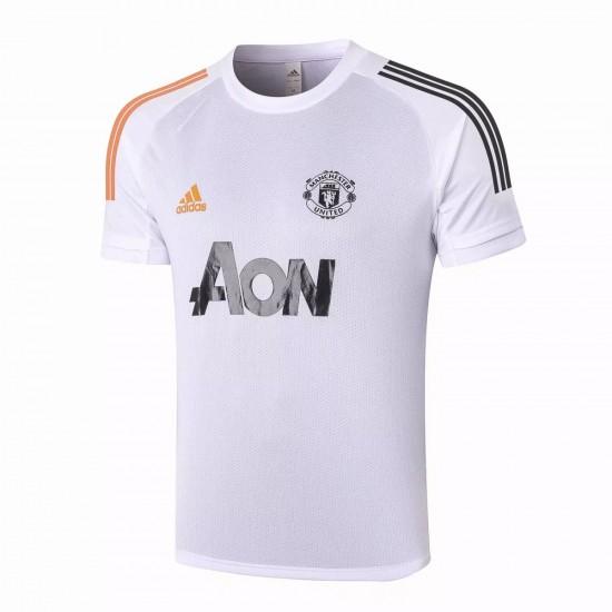 Manchester United Training Jersey White 2020 2021
