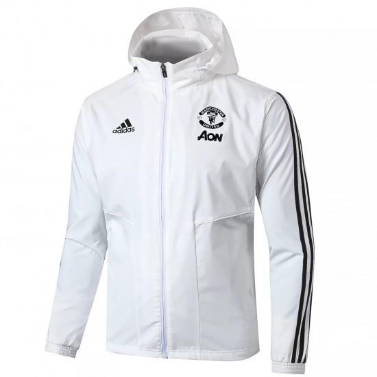 Manchester United Windbreaker Jacket 2020 2021 White