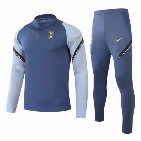 Tottenham Hotspur Technical Soccer Tracksuit Blue 2020 2021