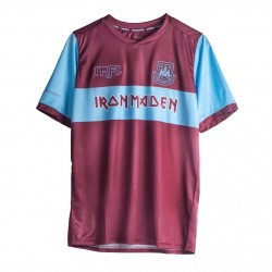 Iron Maiden x West Ham United Home Shirt 2020 2021