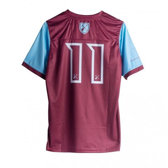 Iron Maiden x West Ham United Home Shirt 2020 2021