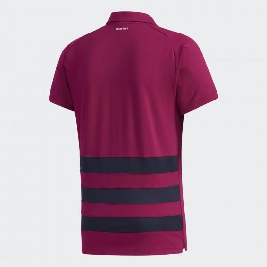 All Red 2020 Primeblue Polo Shirt