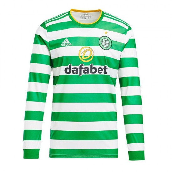 Celtic Home Long Sleeve Jersey 2020 2021