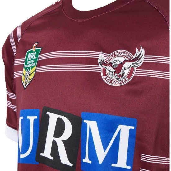 Manly Warringah Sea Eagles 2018 Men's Home Jersey