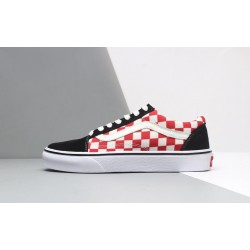 Vans Primary Check Old Skool Red