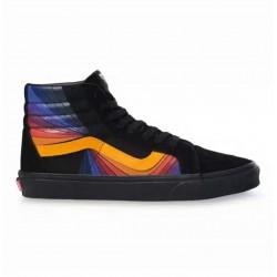 Vans Men Shoes Checkerboard Sk8-Hi Reissue Cap Black/Black