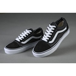 Vans Men Shoes ComfyCush Old Skool Black/True White