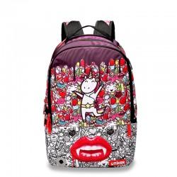 Unicorn the backstreet style backpack