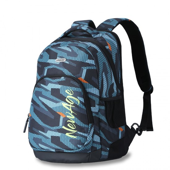 Green mesh the classic backpack style