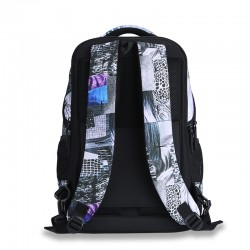 Purple Times the classic backpack style