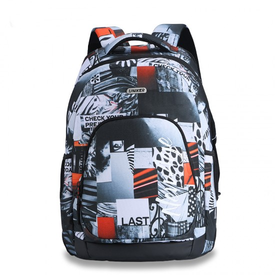 Memory orange the classic backpack style