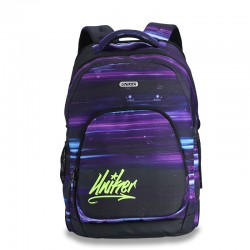 Purple look the classic backpack style
