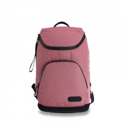 Pink business backpack