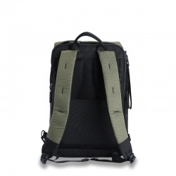 Green business backpack