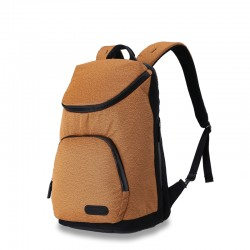 Orange business backpack