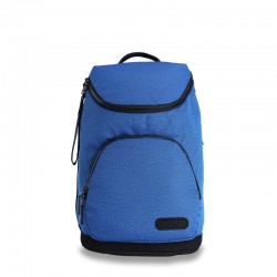 Blue business backpack