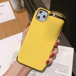 Airpods 1 & 2 Storage Smooth Silicone Shockproof Protective Designer Iphone Case for Iphone 11