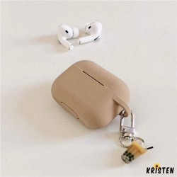 Bubble Tea Keychain Silicone Protective Case for Apple Airpods Pro