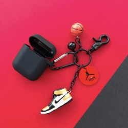 Air Jordan Sneaker Silicone Protective Shockproof Case for Apple Airpods 1 & 2