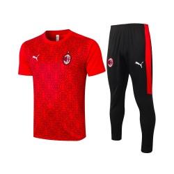 Ac Milan 2020/2021 Men Training Set RED