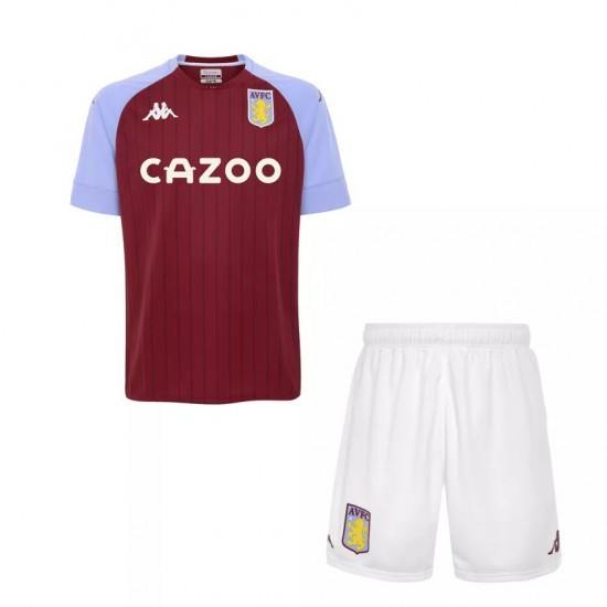 Aston Villa Home Kids Kit 2020 2021