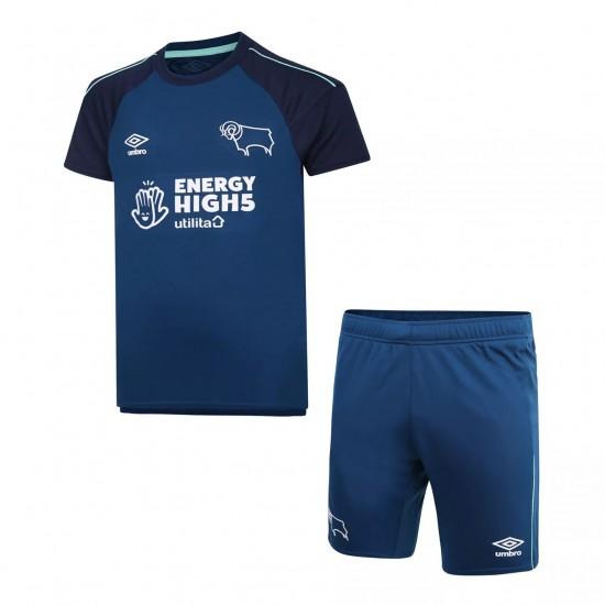 Derby County Away Kids Kit 2020