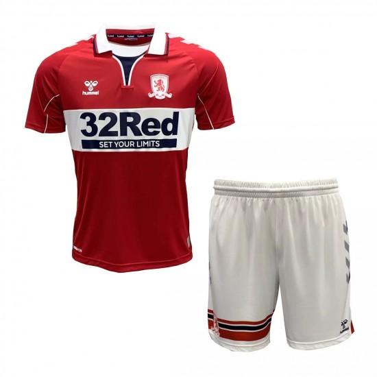 Middlesbrough Home Kids Kit 2020 2021