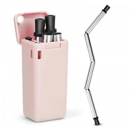 FinalStraw Stainless Steel Reusable Collapsible Straw