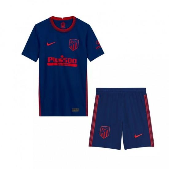 Atletico Madrid Away Kids Kit 2020 2021