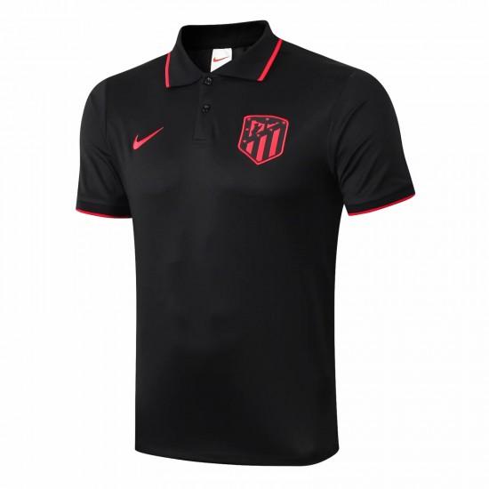 Atlético de Madrid Polo Shirt Black 2019 2020