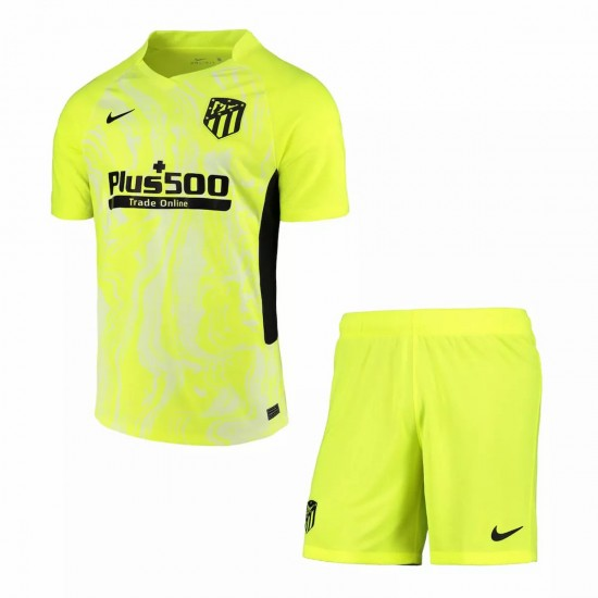 Atletico Madrid Third Kids Kit 2020 2021